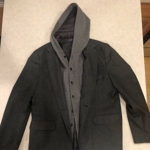 Blazer with built in Hoodie